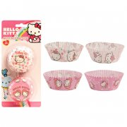 50 Caissettes à Cupcakes Hello Kitty