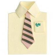 Chemise et Cravate en sucre