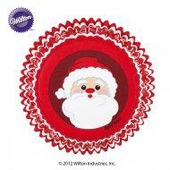 75 Caissettes à Cupcakes Père Noël