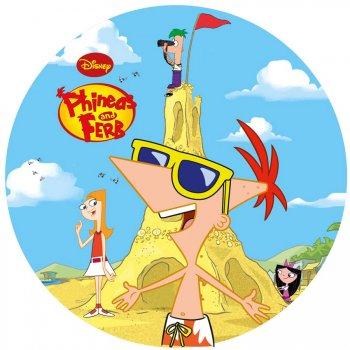 Disque Azyme Disney Phineas & Ferb