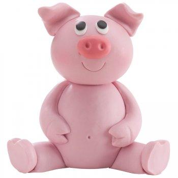 1 Figurine Animal de la ferme - Résine