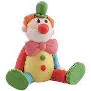 Figurine Clown assis en résine