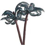 6 Palmiers en plastique
