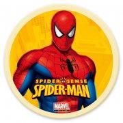 Disque en chocolat Spiderman