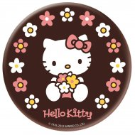 Disque en chocolat Hello Kitty