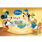 Feuille rectangulaire Azyme Mickey et ses amis