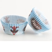 50 Caissettes � Cupcakes Spiderman