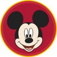 12 Mini-disques Azyme Mickey