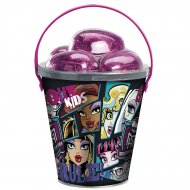 Seau et oeufs en chocolat Monster High