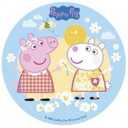 Disque Peppa Pig Flower (16 cm) - Sucre