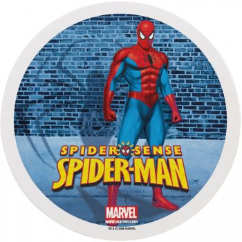 Disque en sucre Spiderman (16 cm)