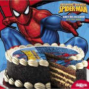 Disque en sucre Spiderman