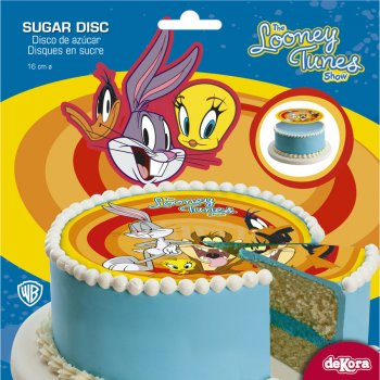 Disque en sucre Looney Tunes