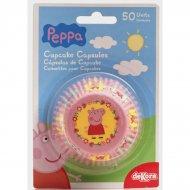 50 Caissettes à Cupcakes Peppa