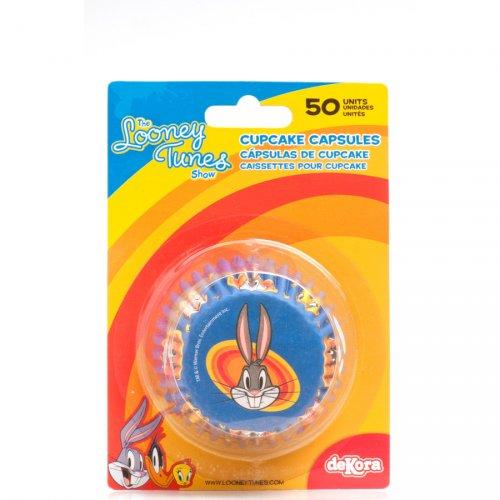 50 Caissettes à Cupcakes Looney Tunes