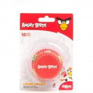 50 Caissettes à Cupcakes Angry Birds