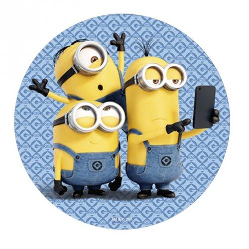 Disque Les Minions Selfie (20 cm) - Azyme