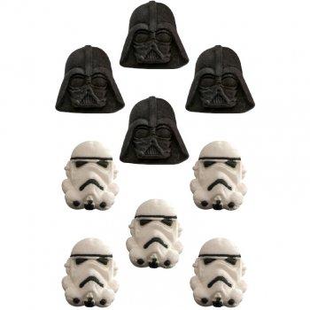 9 Décors en sucre Star Wars