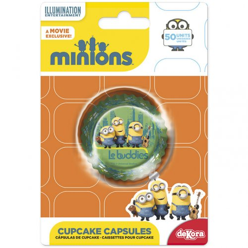 50 Caissettes à Cupcakes Minions Buddies