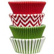100 Caissettes à Cupcakes + Rangement Wilton
