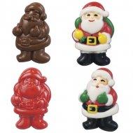 Moule 4 Pères Noël Chocolat Wilton