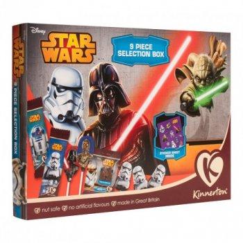 Assortiment de Chocolats et Stickers Star Wars