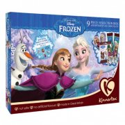 Assortiment de Chocolats et Stickers Reine des Neiges