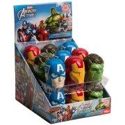 1 Boîte à bonbons et sticker Avengers