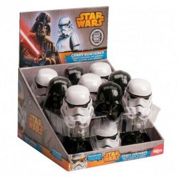 1 Boîte à bonbons et sticker Star Wars