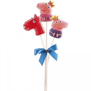 Bouquet de 3 Sucettes Peppa Pig