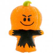 4 Figurines Halloween Smile en sucre g�lifi�