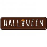 3 Plaques Halloween Mini en Chocolat noir
