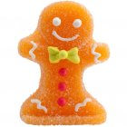 4 Décorations Noël Gingerman en sucre gélifié