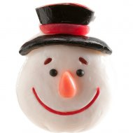 4 Figurines Bouilles de Noël Gummy