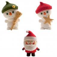 Bonhomme de Neige et Père Noël 2D