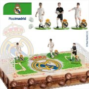 Kit Footballeurs Real Madrid en PVC