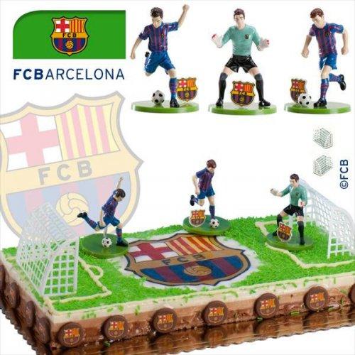 Kit Footballeurs Barca en PVC