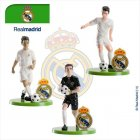 Set 3 Figurines Foot Real Madrid