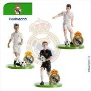 Set 3 Figurines Foot Real Madrid