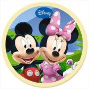 Disque en chocolat Mickey et Minnie