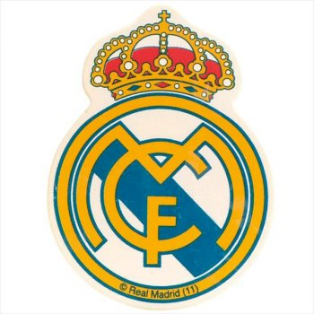 Ecusson en chocolat Real Madrid