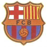Ecusson en chocolat Barca FC Barcelone