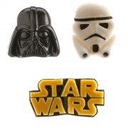 3 Décors Bonbons Star Wars Gummy