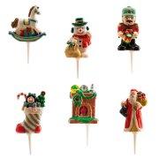 6 Pics D�corations No�l Tradition