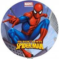 Disque en sucre Spiderman