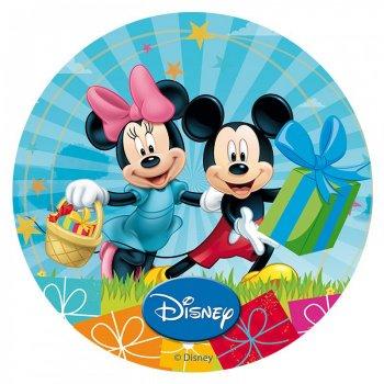 Disque en sucre Mickey & Minnie