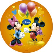 Disque en sucre Mickey & Minnie