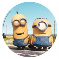 Disque en sucre Minions On the Road