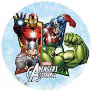 Disque azyme Avengers Assemble