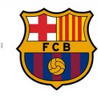 Disque Azyme Barca FC Barcelone
